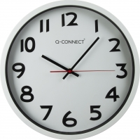 HORLOGE Q-CONNECT - CHROMÉ
