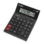 CALCULATRICE DE BUREAU CANON AS2400 14 CHIFFRES