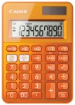 CALCULATRICE DE BUREAU CANON LS-100K 10 CHIFFRES ORANGE