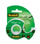 RUBAN ADHESIF INVISIBLE - SCOTCH MAGIC 810 - 19MMX7.5M SUR DEVIDOIR
