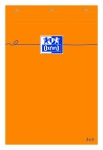 BLOC-NOTES AGRAFE - OXFORD - ORANGE A4 160P 80G 5X5