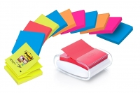 PACK DÉVIDOIR + 12 Z-NOTES POST-IT SUPER STICKY