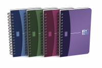CARNET SPIRALE - OXFORD OFFICE URBAN MIX - 9X14CM - 180 PAGES 5X5