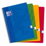 CAHIER OXFORD - SPIRALE - 180 PAGES - 5 x 5 - 21 x 29,7 cm