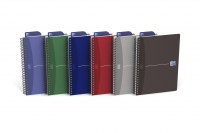 CAHIER OXFORD OFFICE SOUPLE - 100 PAGES - Spirale - 5 x 5 - 14,8 x 21 cm