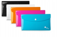 LOT DE 5 CHEMISES POCHETTES À BOUTON PRESSION DL COULEURS ASSORTIES