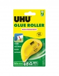 ROLLER DE COLLE REPOSITIONNABLE UHU DRY & CLEAN 6,5 MM X 8,5 M