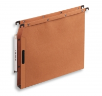 DOSSIERS SUSPENDUS ARMOIRE ATTACHE EASY VELCRO - FOND 3 cm - ORANGE