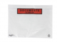 LOT DE 100 POCHETTES « DOCUMENTS CI-INCLUS » - 160 X 225 CM