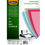 100 PLATS DE COUVERTURE TRANSPARENTS A3 200 MICRONS FELLOWES