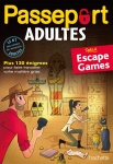 CAHIER DE VACANCES - PASSEPORT - ESCAPE GAME - ADULTE