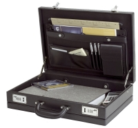 MALLETTE ATTACHÉ-CASE PONTE ALASSIO NOIRE