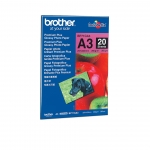 PAPIER PHOTO GLACÉ 260 G BROTHER - BP71GA3