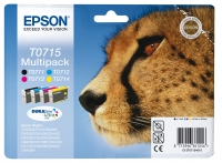 PACK 4 CARTOUCHES T071540 EPSON