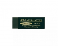 GOMME DUST-FREE - FABER-CASTELL - VERT