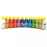 PEINTURE ACRYLIQUE - ACRYLCOLOR BRILLANT 150ML - LOT DE 12