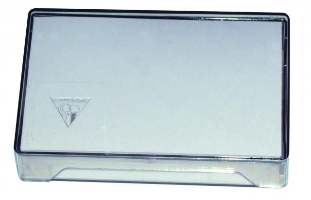 COFFRET DE 100 CARTES VISITE GPV SAINT LOUIS 82x128mm BLANCHES FSC Enveloppes Blanches 348069