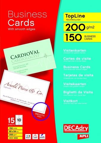 DECADRY Cartes De Visite 372462