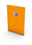 BLOC-NOTES AGRAFE - OXFORD - ORANGE A4 160P 80G 5X5 PERFORE