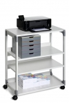 DESSERTE SYSTEM MULTI TROLLEY DURABLE - 4 TABLETTES