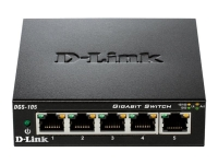 SWITCH DE BUREAU D-LINK - 5 PORTS
